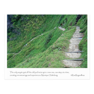 Create a New Path Postcard