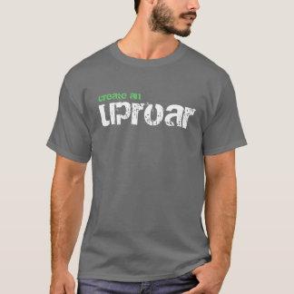 create an uproar, support peace corps tshirt