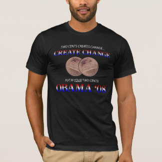 Create Change with Obama T-Shirt