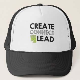 Create Connect Lead (light) Trucker Hat
