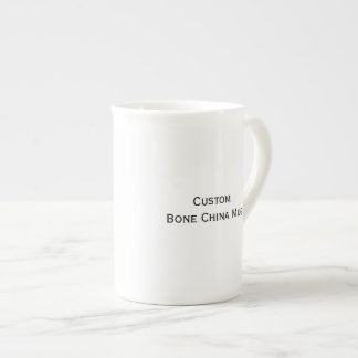 Create Custom Bone China Tea/Coffee Mug Bone China Mug