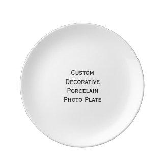 Create Custom Decorative Porcelain Photo Plate Porcelain Plates