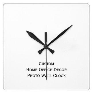 Create Custom Home Office Decor Photo Wall Clock