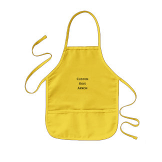 Create Custom Kids Arts/Crafts/Kitchen Apron