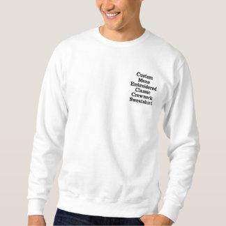 Create Custom Mens Embroidered Crewneck Sweatshirt