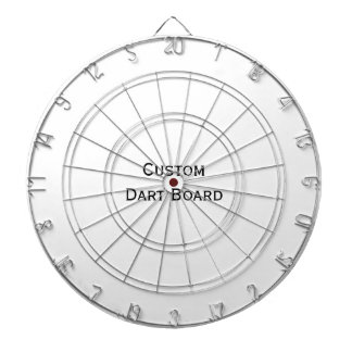 Create Custom Metal Cage Game Room Dart Board