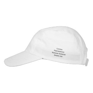 Create Custom Performance Running Sports Hat Cap