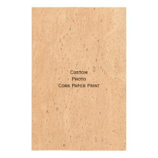 Create Custom Photo Cork Paper Print