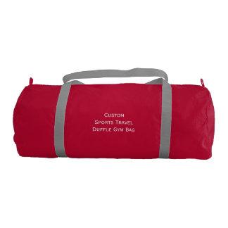 Create Custom Sports Club Travel Duffle Gym Bag
