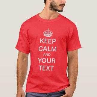Create / Customize your own Keep Calm Shirt