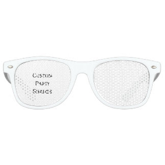 Create Fun Cool Custom Party Shades Sunglasses