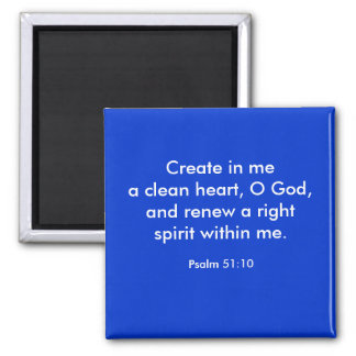 CREATE IN ME MAGNET