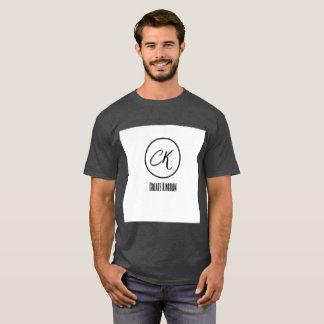 Create Kingdom comfortable Men's Dark t-shirt