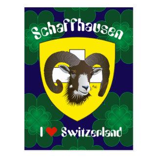 Create-live Switzerland to postcard