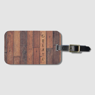 Create Luggage Tag