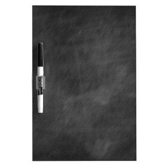 Create  own chalkboard designs - add text pics etc dry erase board