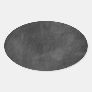 Create  own chalkboard designs - add text pics etc oval sticker