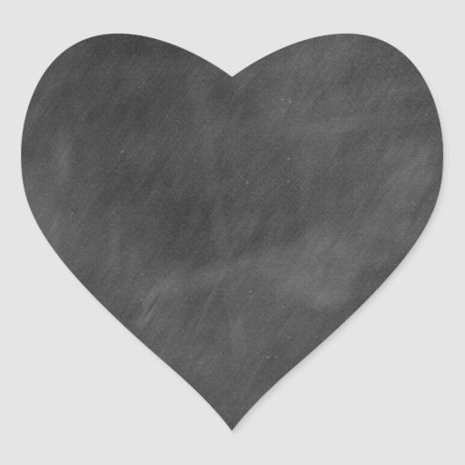 Create  own chalkboard designs - add text pics etc heart stickers