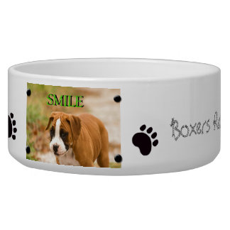 Create Own Custom Image & Text Dog Food Bowl