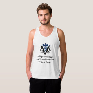 Create Positive Affirmations by Vitaclothes™ Singlet