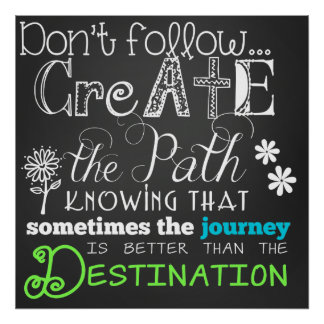Create the Path Motivational Poster
