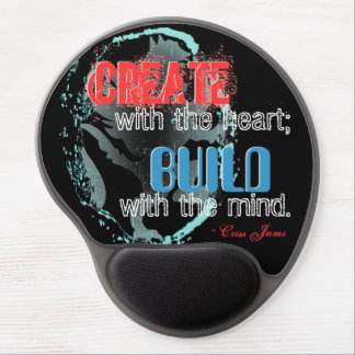 """""""Create With the Heart"""" Gel Mousepad"""