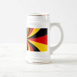 Create You own Deutschland patriotic national flag Beer Stein