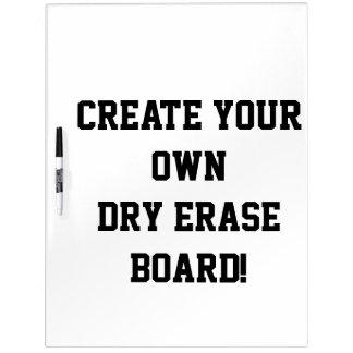 Create your Custom Dry Erase Board
