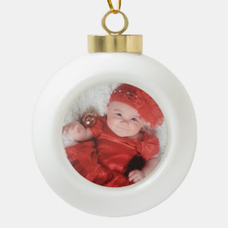 Create Your Memories Ceramic Ball Ornament