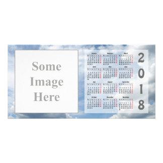 Create your own 2018 Calendar Photo Card
