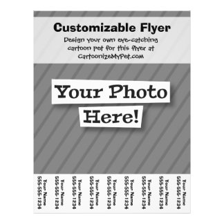 Create Your Own 21.5 Cm X 28 Cm Flyer