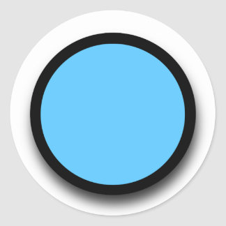 Create Your Own 3D LOOK Sticker A03 BLUE BLACK