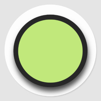 Create Your Own 3D LOOK Sticker A10 LIME GREEN