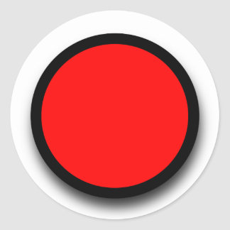 Create Your Own 3D LOOK Sticker A12 RED BLACK