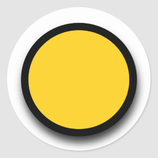 Create Your Own 3D LOOK Sticker A16 YELLOW BLACK