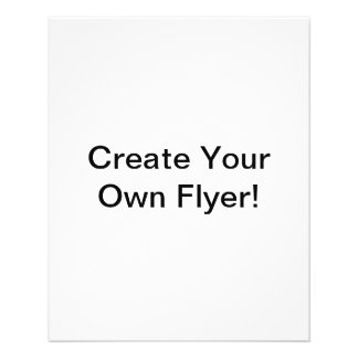 """Create Your Own 4.5"""" x 5.6"""" Flyer"""