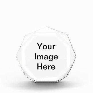 Create Your Own Acrylic Octagon Awards