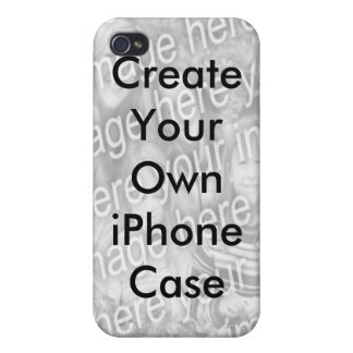 Create Your Own Add Your Photo iPhone 4 Case