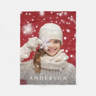Create Your Own | Add Your Photo & Name Custom Fleece Blanket