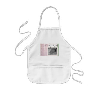 Create your own baby announcements kids apron