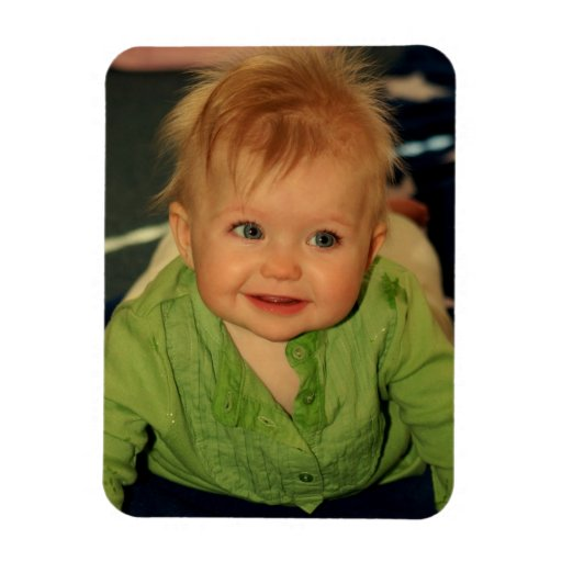 Create Your Own Baby Photo Magnet Keepsake