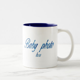 CREATE YOUR OWN BABY PHOTO MUGS