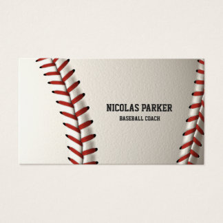 Create Your Own Baseball Business Card