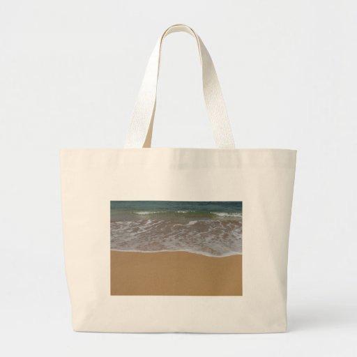 Create your own beach theme jumbo tote bag