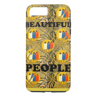 Create Your Own Beautiful People Traditional Afric iPhone 7 Plus Case