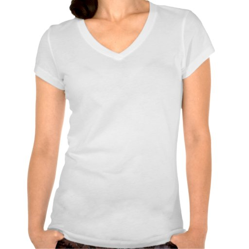 Create Your Own Bella Womens V-Neck Shirt