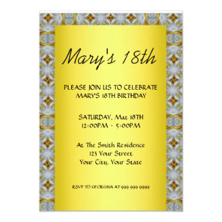 Create Your own Birthday Invitation