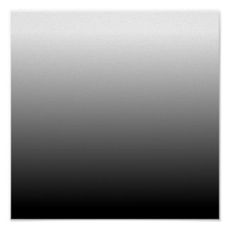 Create Your Own Black Ombre Poster
