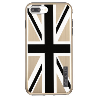 Create Your Own Black Union Jack Incipio DualPro Shine iPhone 8 Plus/7 Plus Case