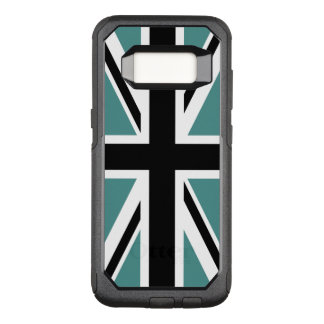 Create Your Own Black Union Jack OtterBox Commuter Samsung Galaxy S8 Case